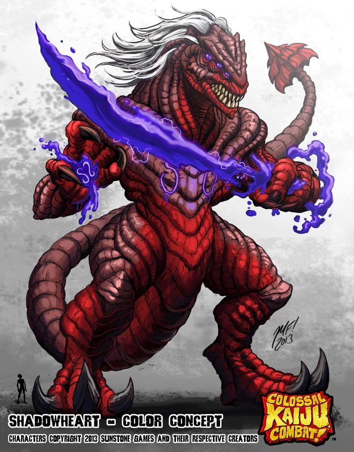 Colossal Kaiju Combat - Shadowheart by KaijuSamurai