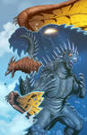 Godzilla Rulers of Earth issue 5 cover