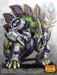 Colossal Kaiju Combat - Mecha Stego Maximo