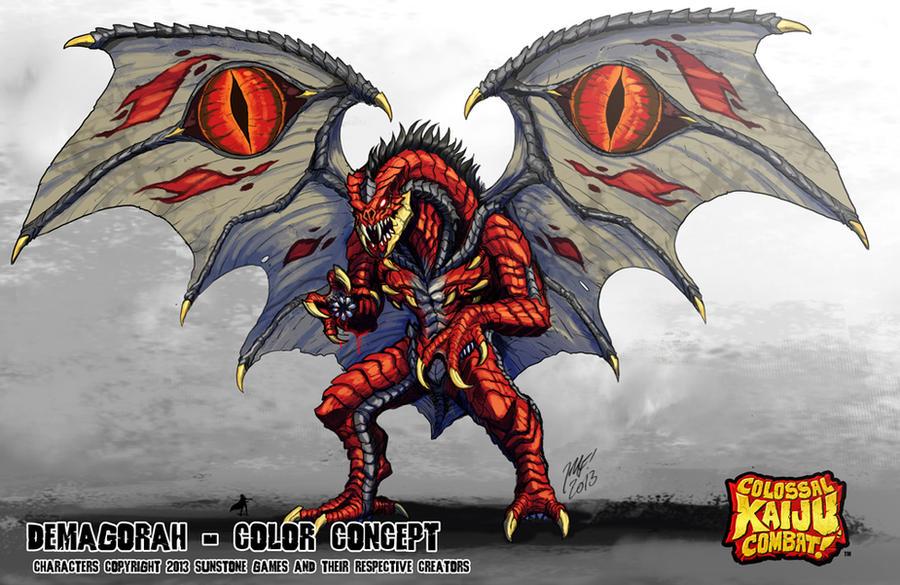 Colossal Kaiju Combat - Demagorah by KaijuSamurai