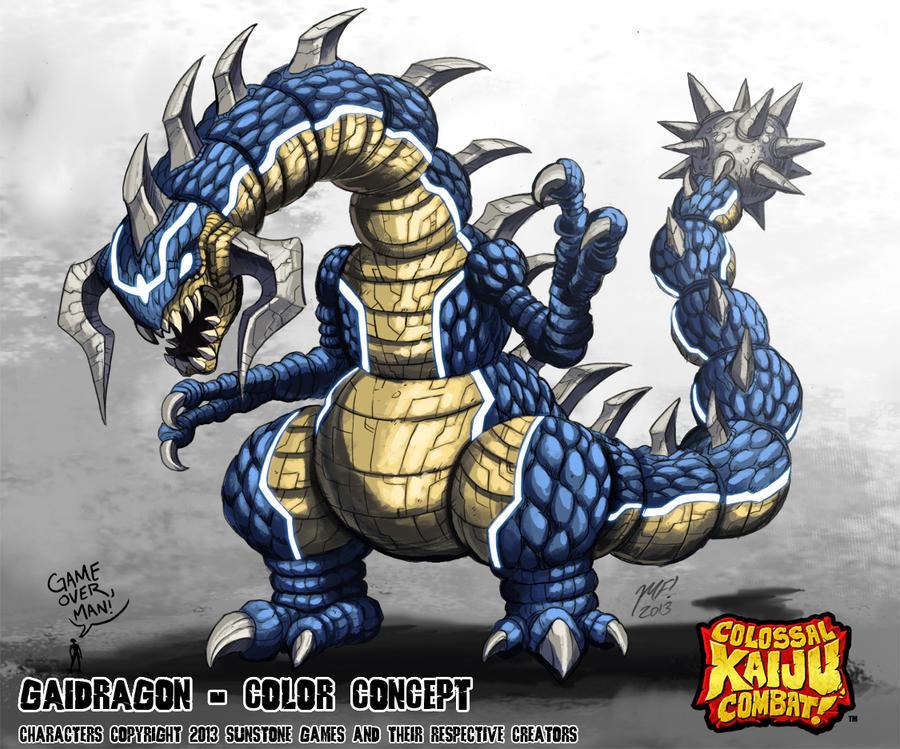 Colossal Kaiju Combat - Gaidragon by KaijuSamurai