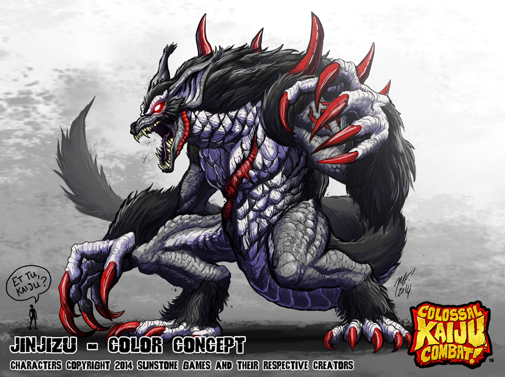 Colossal kaiju combat - solomon by kaijusamurai on deviantart