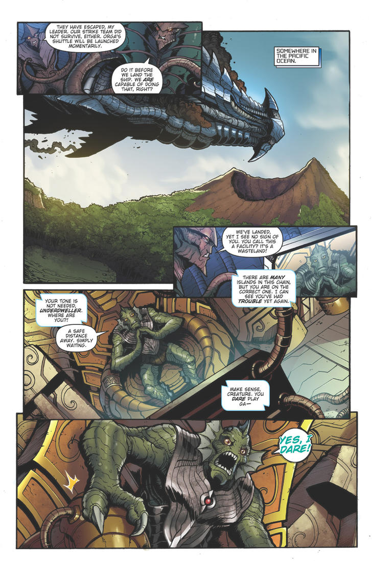 Godzilla Rulers of Earth issue 8 - pg5 by KaijuSamurai