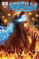 Godzilla Rulers of Earth issue 12 cover by KaijuSamurai