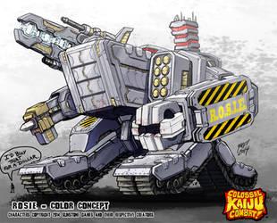 Colossal Kaiju Combat - Rosie by KaijuSamurai