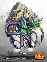 Colossal Kaiju Combat - Infensus by KaijuSamurai