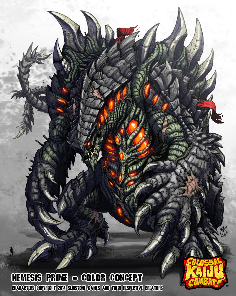 What Godzilla crossover would you guys like to see happen ... Pacific Rim Kaiju Stats