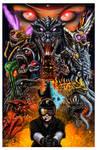 Godzilla: Battle Royale poster