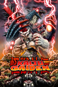 Kaiju Gaiden poster - updated!