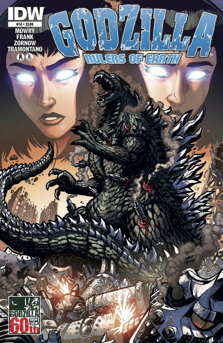Godzilla Rulers of Earth #16 cover by KaijuSamurai