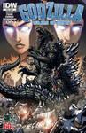 Godzilla Rulers of Earth #16 cover