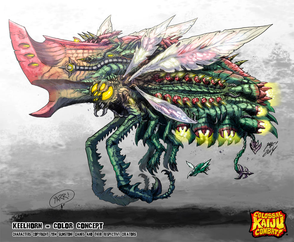 Colossal Kaiju Combat - Keelhorn by KaijuSamurai