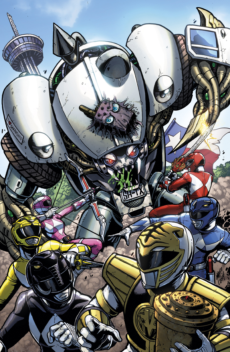 Mighty Morphin Power Rangers Alamo City Cover By