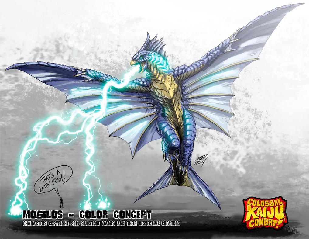 Colossal Kaiju Combat - Mogilos by KaijuSamurai