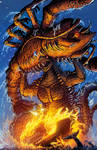 Godzilla Rulers of Earth #17 cover