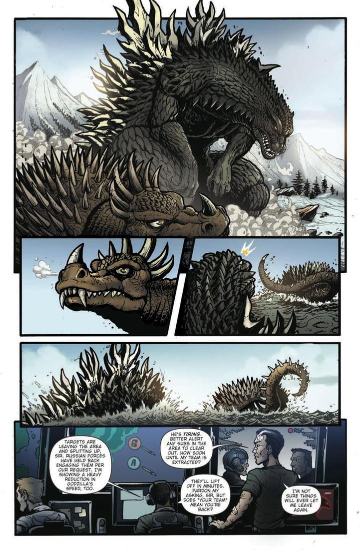 Godzilla Rulers of Earth #17 pg4 by KaijuSamurai