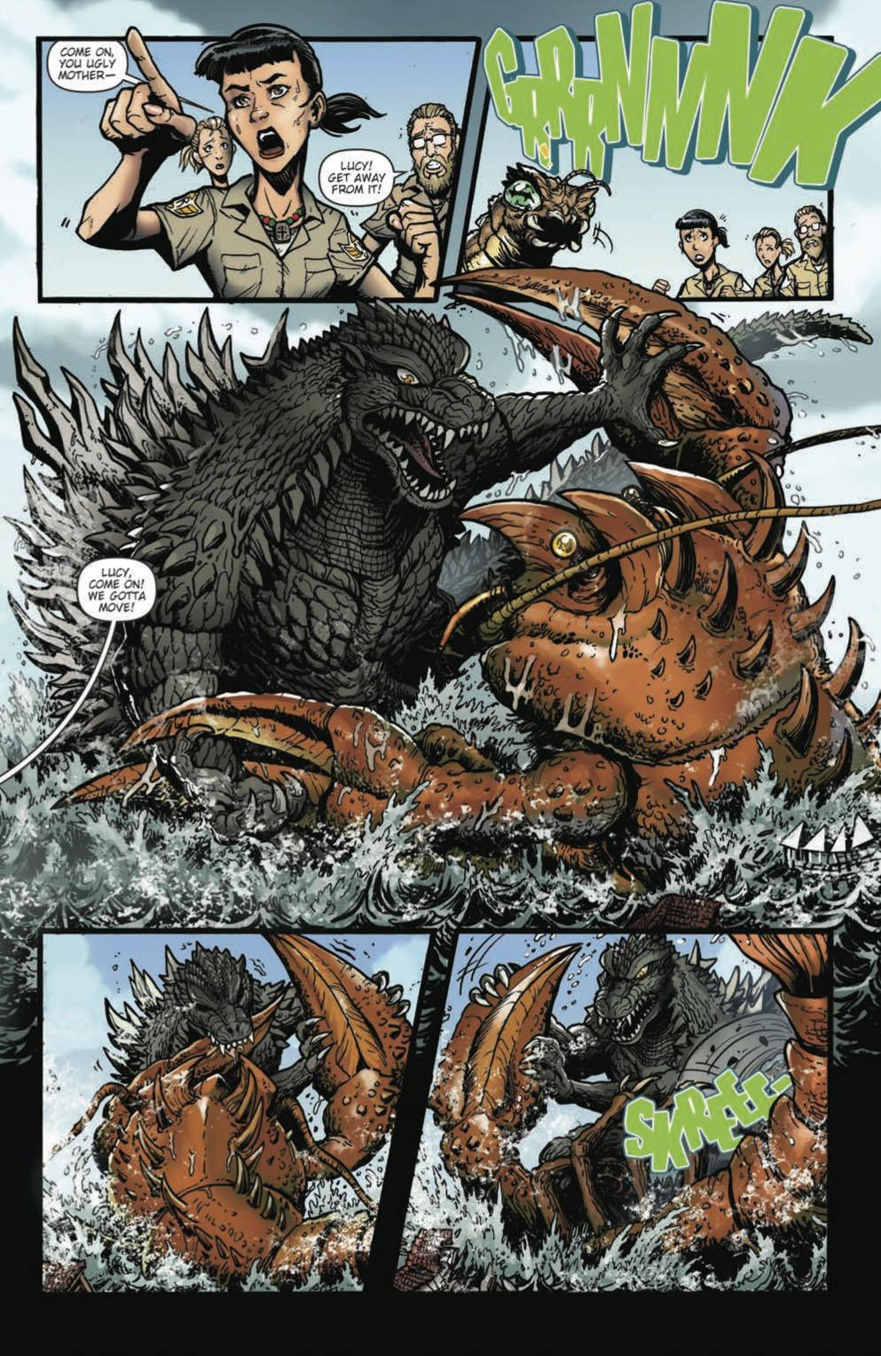 Godzilla Rulers of Earth #18 pg 4 by KaijuSamurai on DeviantArt