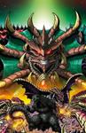 Godzilla Rulers of Earth #20 cover
