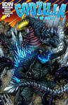 Godzilla Rulers of Earth #21 cover