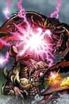 Godzilla Rulers of Earth #23 cover