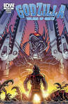 Godzilla Rulers of Earth #24 cover