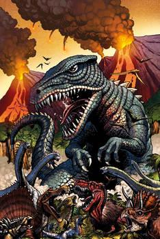 Godzilla Rulers of Earth #22 cover