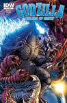 Godzilla Rulers of Earth #25 cover