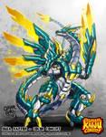 Colossal Kaiju Combat - Giga Raptor