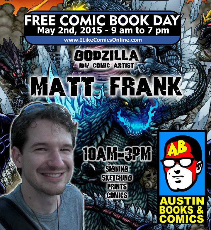 Free Comic Book Day España: Free Comic Book Day 2015 By KaijuSamurai On DeviantArt