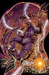 Godzilla In Hell #2 cover