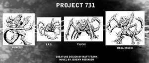 Project 731 Creature Design by KaijuSamurai