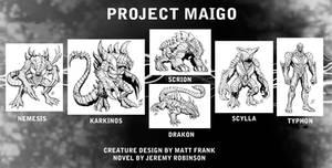 Project Maigo Creature Designs