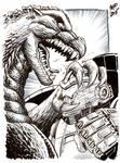 Kaigai Manga Festa - Godzilla Vs Gipsy Danger