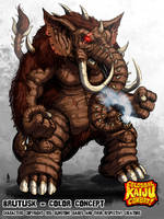 Colossal Kaiju Combat - Brutusk