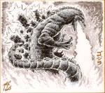 Godzilla 1954 sketch