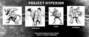 Project Hyperion Creature Designs