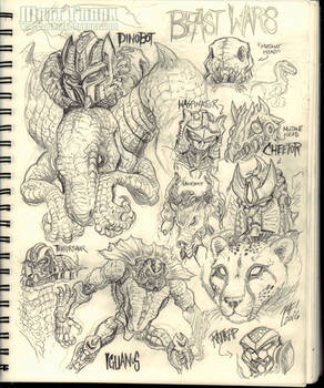 Beast Wars sketches