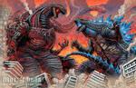 Shin Gojira vs Legendary Godzilla