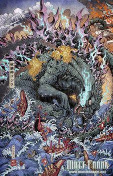 Godzilla: Rage Across Time #1 clean ver