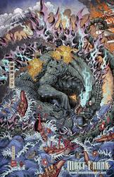 Godzilla: Rage Across Time #1 clean ver by KaijuSamurai