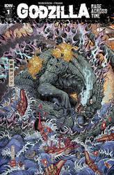 Godzilla: Rage Across Time #1 by KaijuSamurai