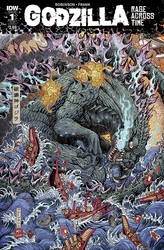 Godzilla: Rage Across Time #1 by KaijuSamurai
