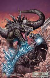 Godzilla: Rulers of Earth Japanese cover by KaijuSamurai