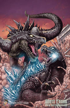 Godzilla: Rulers of Earth Japanese cover