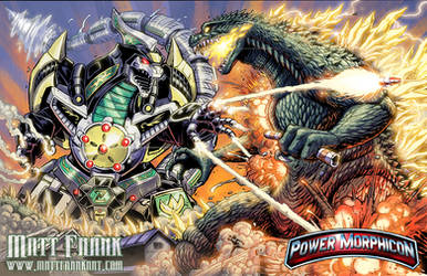 Dragonzord Vs Godzilla Power Morphicon