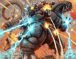 Godzilla: All Out Assault for Dream Planet Japan by KaijuSamurai