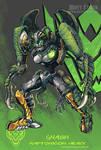 Raptoricons - Gnash robot mode