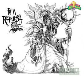 Rita Repulsa movie concept