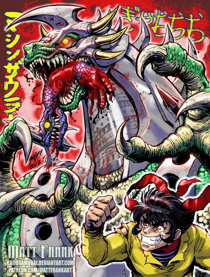 Machinesaurer! by KaijuSamurai