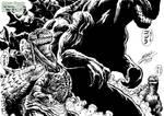 Godzilla - New Kid on the Block by KaijuSamurai